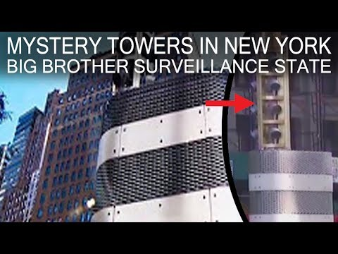 Mystery Towers in New York - Big Brother Surveillance State
