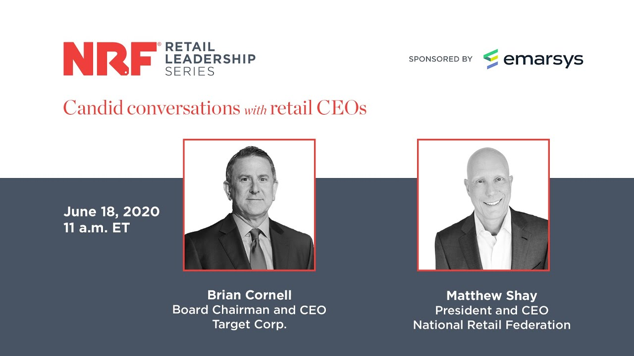 NRF Retail Leadership Series: Brian Cornell, Board Chairman and CEO, Target