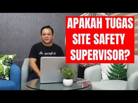 Tugas Site Safety Supervisor di Malaysia👷