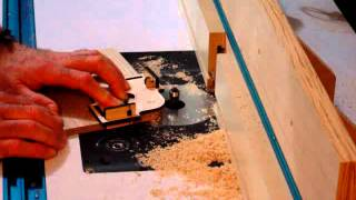 Corner Radius Router Jig In Action
