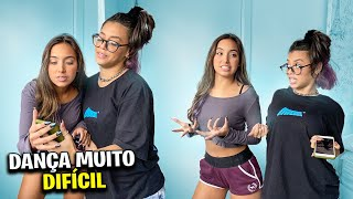APRENDEMOS A DANCINHA MAIS DIFÍCIL DO TIKTOK! Ft. Clara