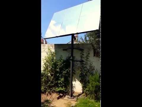 Le premier réflecteur solaire automatisé en France