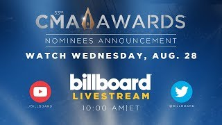 Livestream: CMA Awards 2019 Nominees Announcement