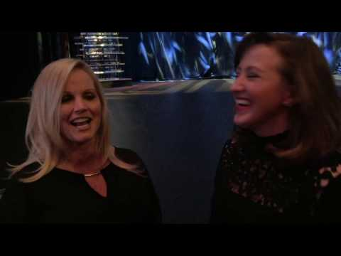 Tiffany Lakosky at the 2017 Outdoor Sportsman Awards with Women's Outdoor News & Julie Golob