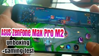 ASUS ZenFone Max Pro M2 Unboxing & Gaming Test