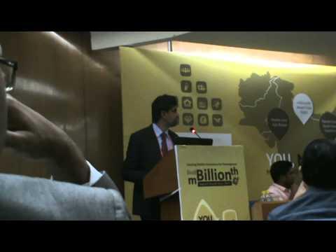 Madura Hewage at mBillionth Awards 2015 - INDIA