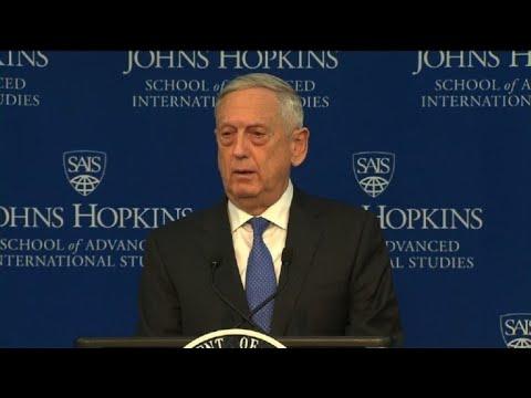 """Pentágono advierte de """"amenazas crecientes"""" de Rusia y China"""