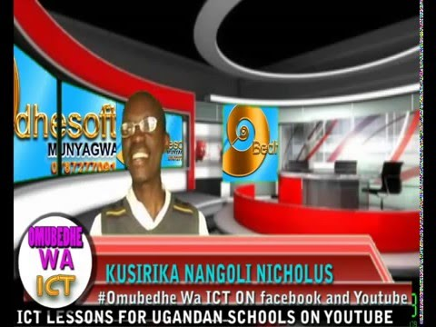 UGANDA SYLLABUS ICT AND COMPUTER STUDIES LESSON 2 CLASSIFICATION OF COMPUTER  BY Omubedhe WA ICT