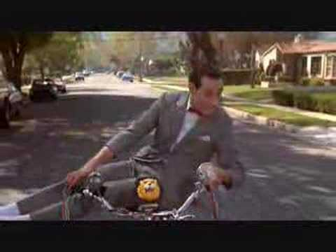 Pee Wee's Big Adventure - Bike Flip