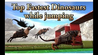 Top Fastest Creatures in ARK while JUMPING - ARK Speed tournament || Cantex