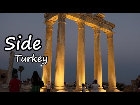 Side, Turkey   Tourist Information Film