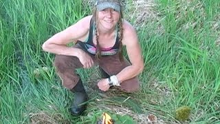 Survival Fire- Natural Materials Spark Test