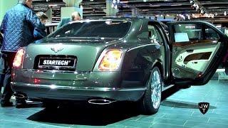 The Extremely Luxurious Startech Bentley Mulsanne! Exterior & Interior Looks! - IAA Frankfurt 2015
