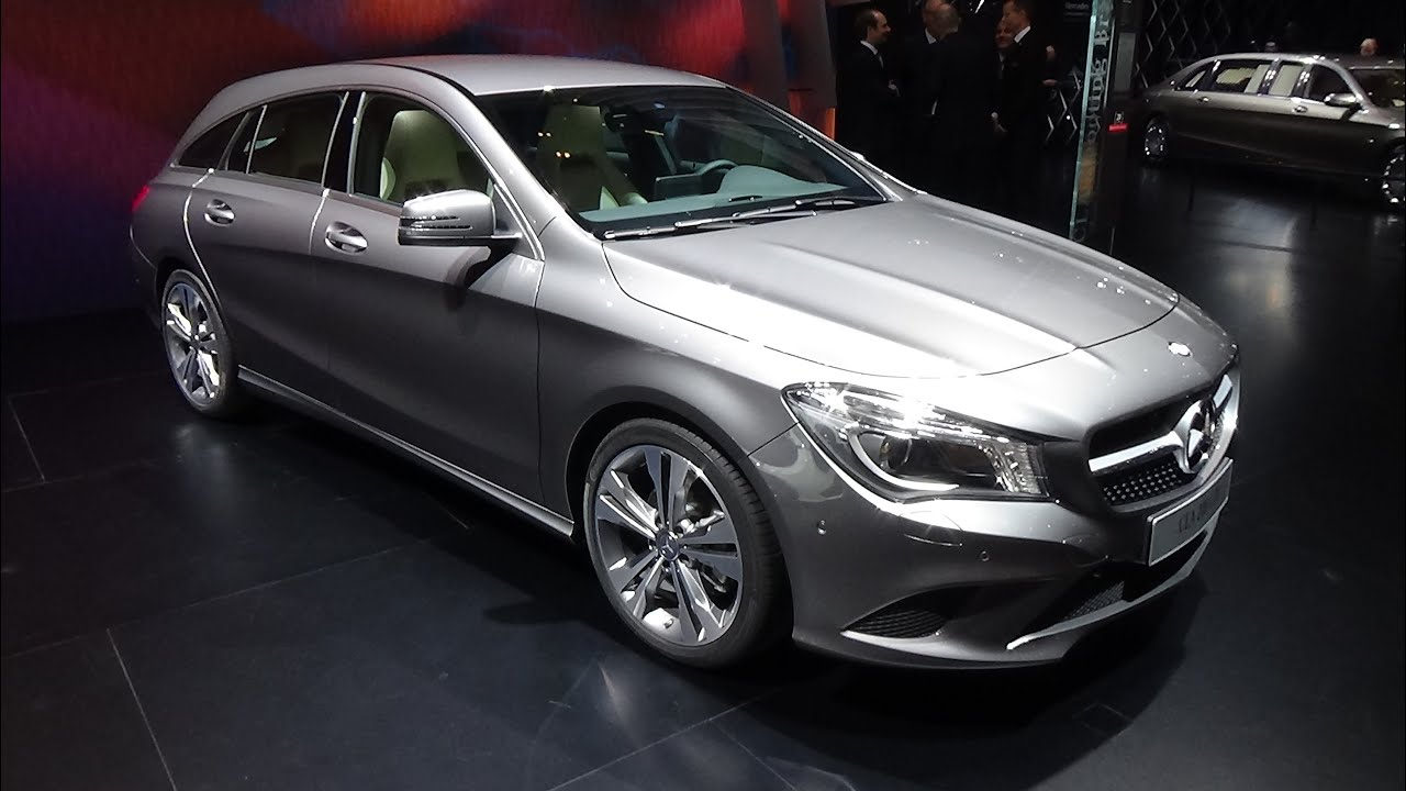 2016 mercedes benz cla 200 cdi shooting brake exterior and interior geneva motor show 2015. Black Bedroom Furniture Sets. Home Design Ideas