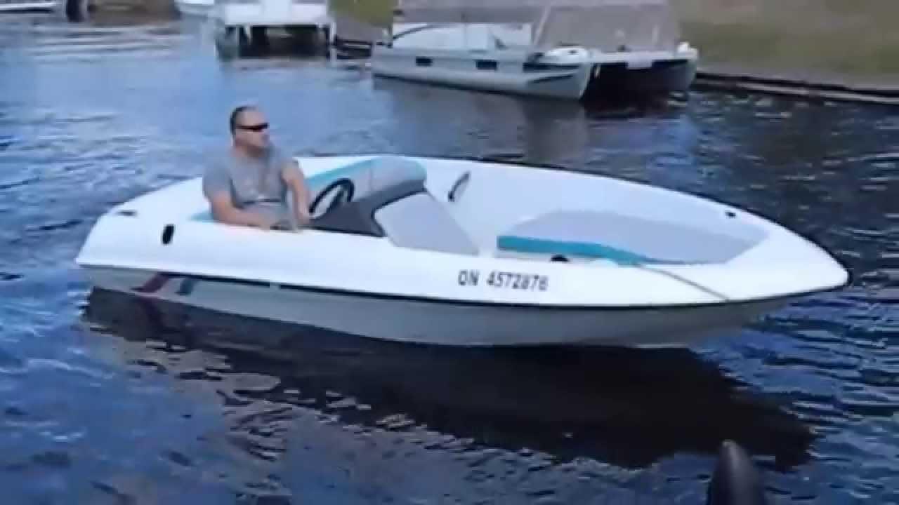 1995 15 Sugar Sand Mirage Jet Boat 120hp Merc Sport