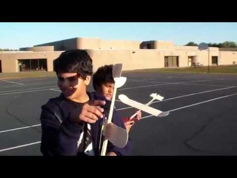 Rocky Run Middle school Aerospace nuts flying