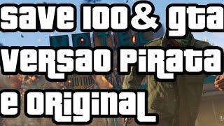 Como Baixar E Instalar O Save 100% Gta V Pc - Jogo Original E Pirata