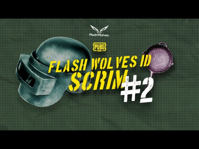 LIVE SCRIM FLASHWOLVES #2