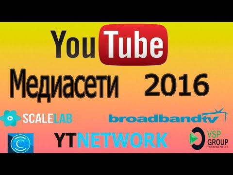 YouTube Медиасети 2016