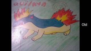 Drawings : Pokemon From The Johto Region Part 1