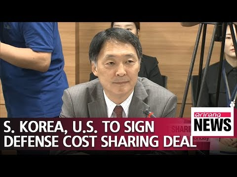 S. Korea, U.S. to sign defense cost sharing deal for 2019 on Sunday Mp3
