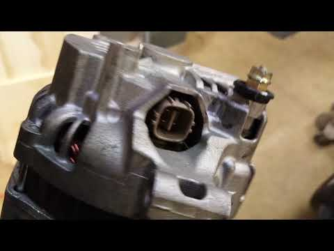 How To – Acura RSX Alternator Replacement – Easiest Method – K20 K24