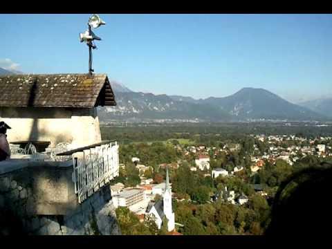Blejski Grad in Bled, Slovenia