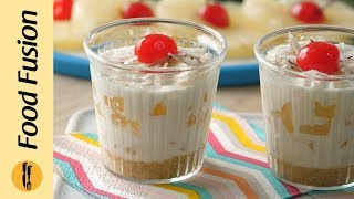 Pineapple Cream Dessert Recipe By Food Fusion