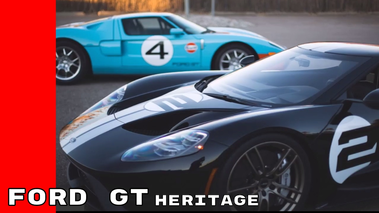 2017 Ford Gt 66 Heritage Edition 2006 Gt Heritage Edition
