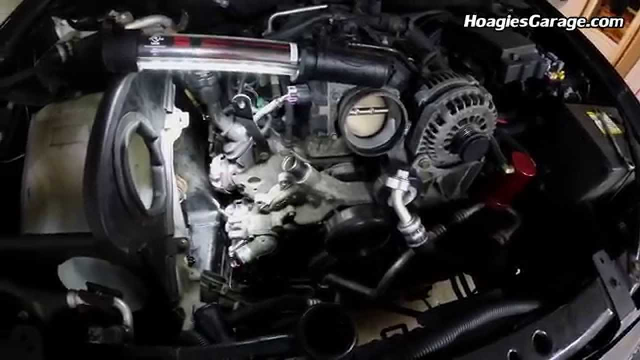 small resolution of chevrolet trailblazer ss 6 0l ls2 air conditioning ac compressor replacement how to youtube
