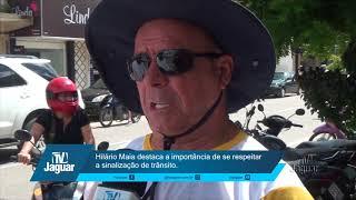 Hilário Maia destaca a importância de se respeitar a sinalização de trânsito