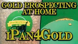 Gold Prospecting At Home #11 - Ipan4gold Hi-grade Gold Paydirt