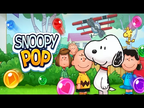 Snoopy Pop Android bubble pop kids Gameplay ᴴᴰ