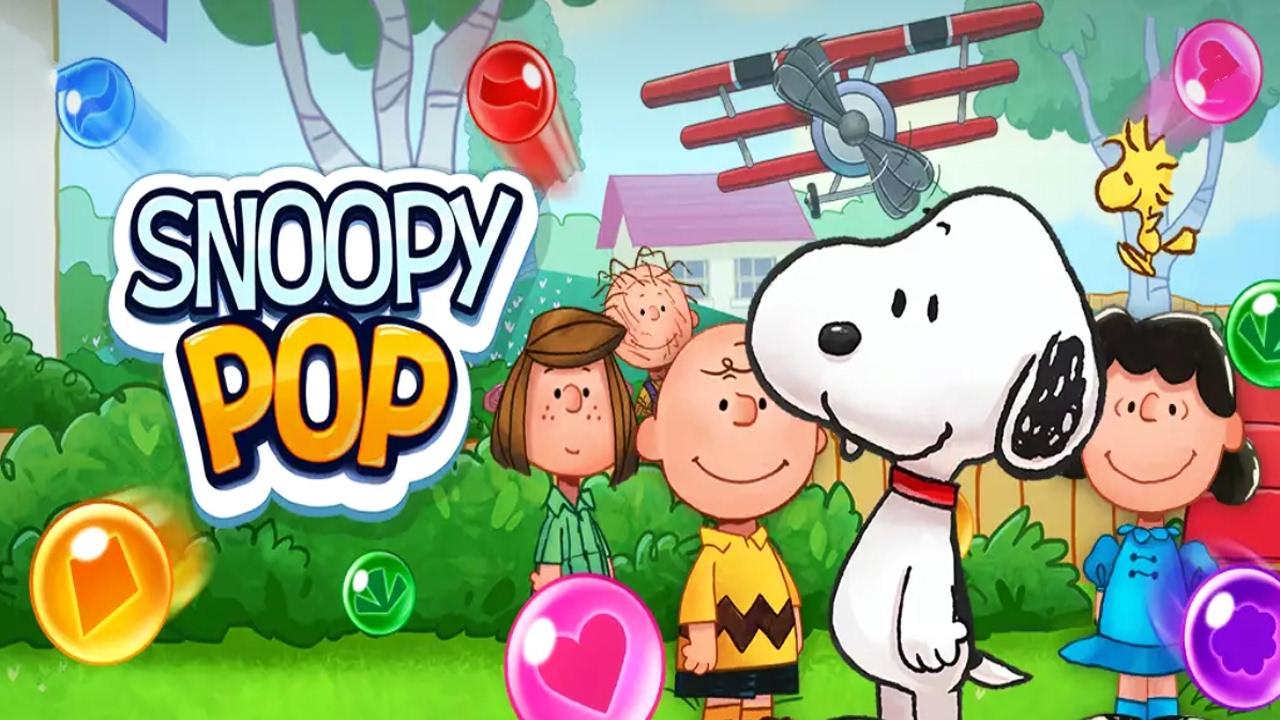 Snoopy Pop Android Gameplay u1d34u1d30