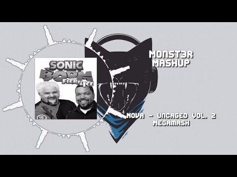 Mega Mashup] Nova - Monstercat Uncaged - Vol  2 ~ [Monst3r
