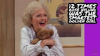 12 Times Rose Nylund Was The Smartest Golden Girl