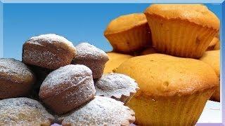 Молочные кексы(Кексы получаются пышными,вкусными и не требуют много времени и сил на приготовление.Необычайно быстрый..., 2014-05-18T18:55:49.000Z)