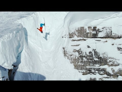 Jackson Hole Skiing, Corbet's Couloir Backflip, Cliff drops and Powder | Owen Leeper