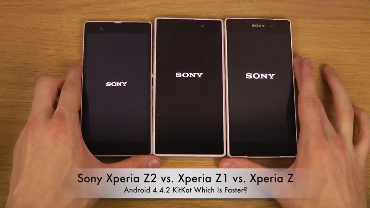 Sony Xperia Z2 Vs. Xperia Z1 Vs. Xperia Z Android 4.4.2