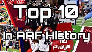 Top 10 Plays in AAF History