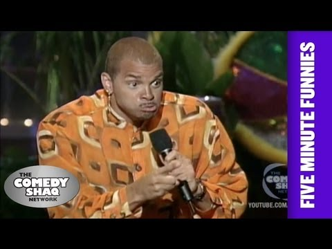 Sinbad⎢We are all the same!⎢Shaq's Five Minute Funnies⎢Comedy Shaq