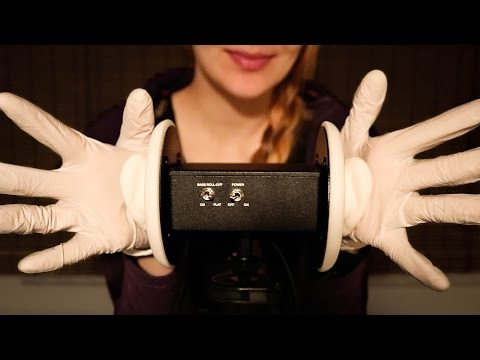 ASMR Hand Sounds with Gloves