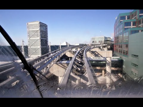 LINK Train Timelapse (Toronto Pearson International Airport)