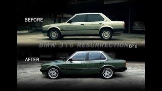 มาเปลี่ยนโฉม BMW 316 เก่าๆ ให้กลับมาเฟี้ยวฟ้าวไฉไลกว่าเดิม ep2