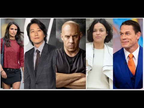 Fast And Furious 9 Cast Crew Their Real Name Ages Youtube