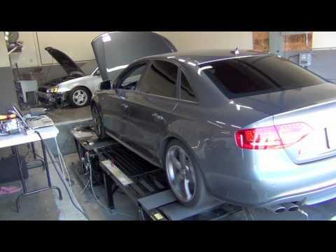 Audi S4 Dyno Pull - Post mod