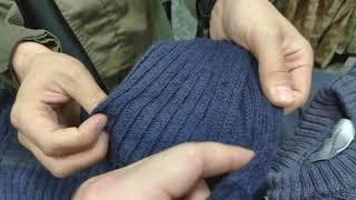 Что такое БУ британские свитера О-ворот.