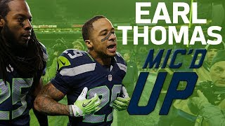 Earl Thomas' Best Mic'd Up Moments | Sound FX | NFL Films
