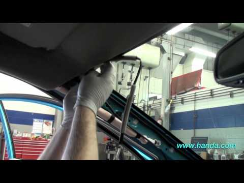 Honda Insight Auto Day/Night Mirror Installation (Honda Answers #81)