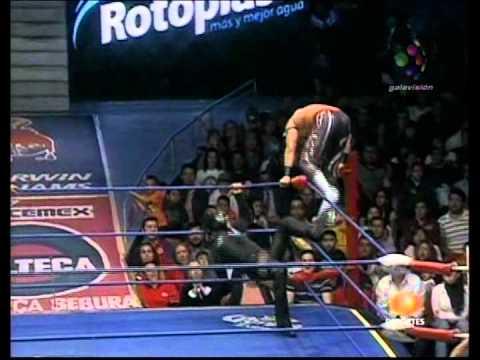 CMLL - Místico, Averno vs. Volador Jr., Terrible, 2010/01/22